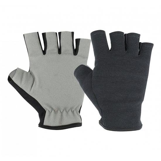 Finger less Gel Padding Gloves