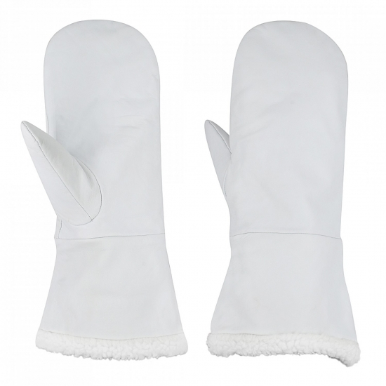 Sheepskin Leather Mittens