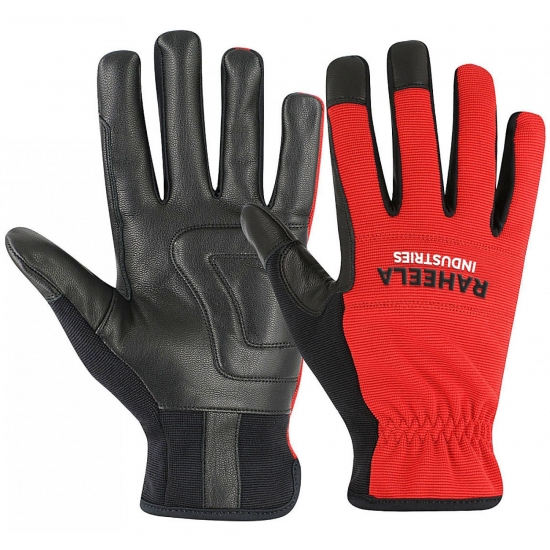 Leather Mechanics Gloves